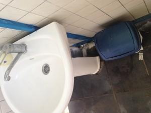 Sardunya Beach Club kirli tuvaletler